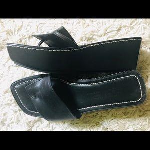 Womens Donald J Pliner Sifi Thong Wedge Sandals